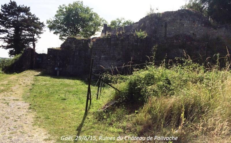CR du 29-6-15, à l'assaut des châteaux pour Gaël... 7310