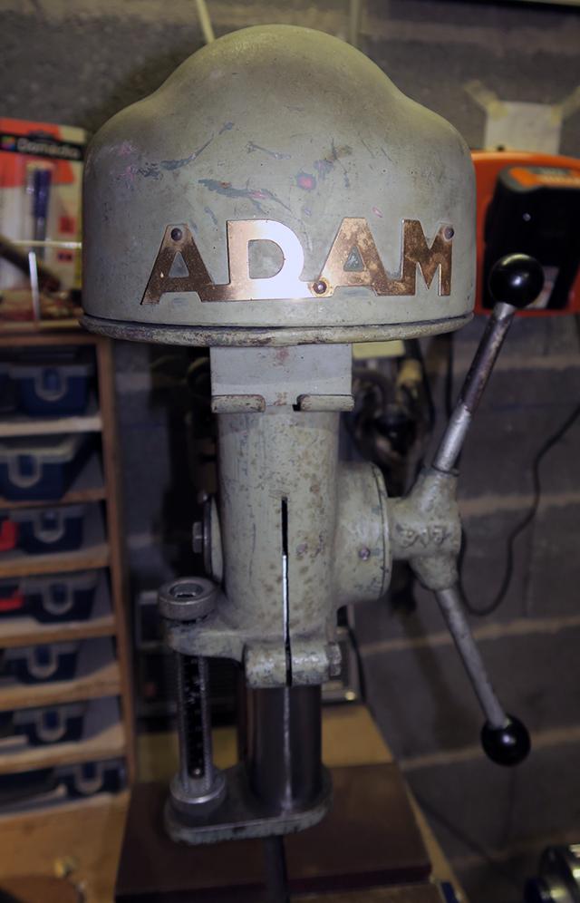 remise en état perceuse ADAM C13 Adam0110
