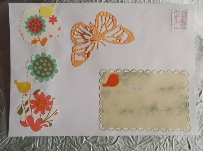 Enveloppe Mail Art Dscf4132