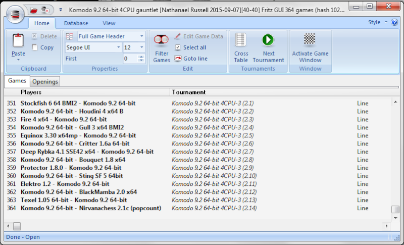 Komodo 9.2 64-bit 4CPU Gauntlet - Page 3 351-3610