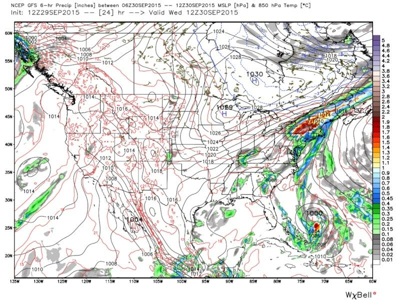 September 29th-30th Tropical Front  Gfs_pr11