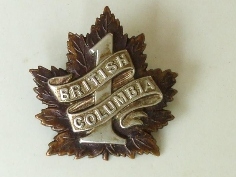 Cap badges canadiens WWI 7th_bn10