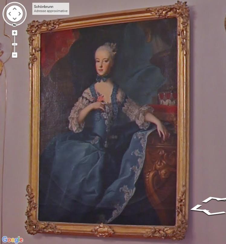 Portraits de Marie Caroline d'Autriche, reine de Naples et de Sicile Schonb11
