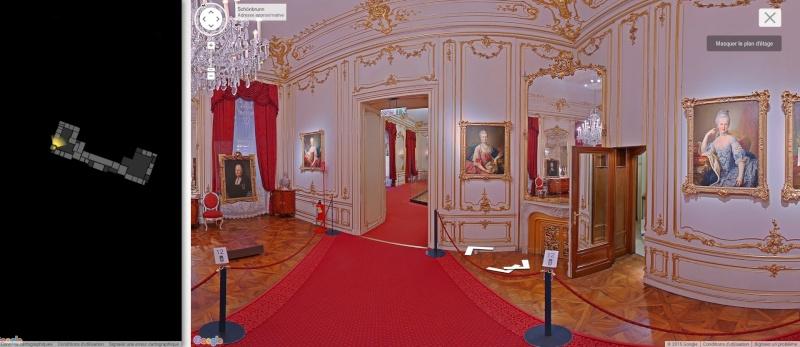 Visite virtuelle du Château de Schönbrunn avec Google art project Schonb12
