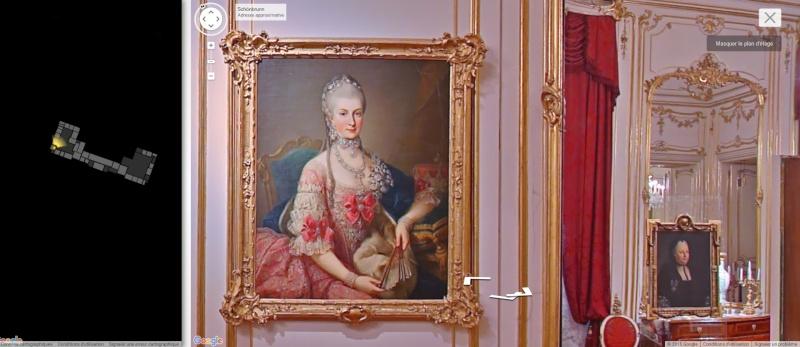 Visite virtuelle du Château de Schönbrunn avec Google art project Schonb14