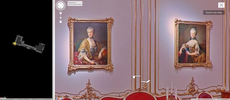 Visite virtuelle du Château de Schönbrunn avec Google art project Schonb15