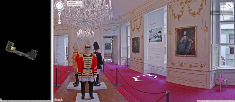 Visite virtuelle du Château de Schönbrunn avec Google art project Schonb17