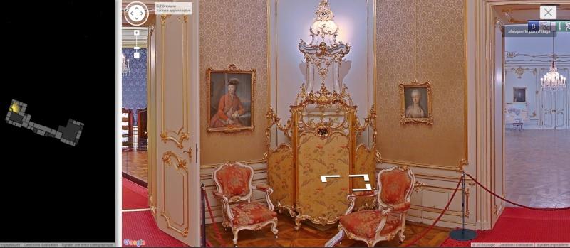 Visite virtuelle du Château de Schönbrunn avec Google art project Schonb18
