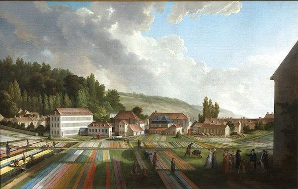 Les toiles de Jouy et la manufacture de Christophe-Philippe Oberkampf 12002810