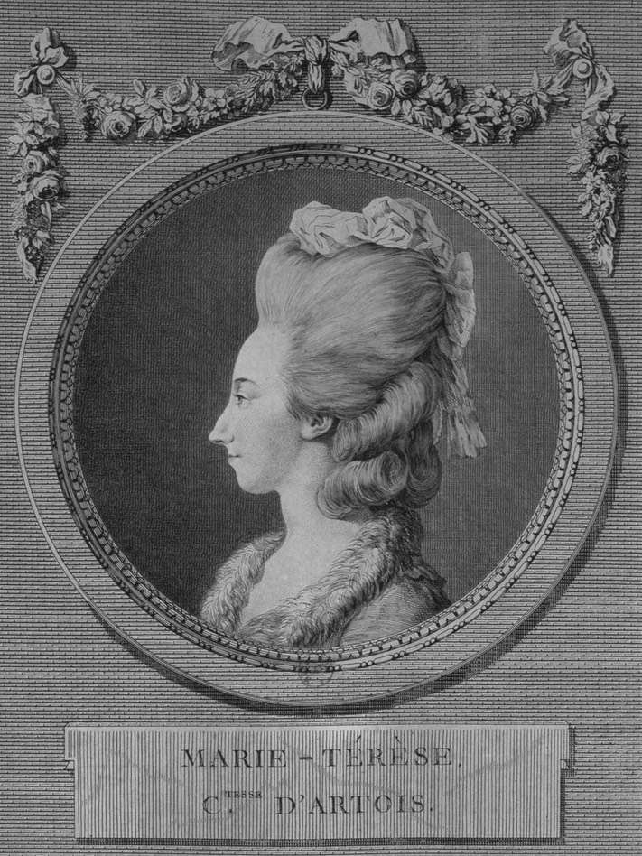 Savoie - Marie-Thérèse de Savoie, comtesse d'Artois - Page 2 1778-p10