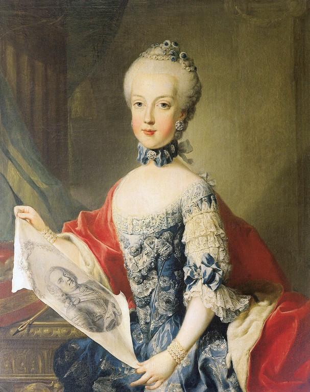Portraits de Marie Caroline d'Autriche, reine de Naples et de Sicile 20130110