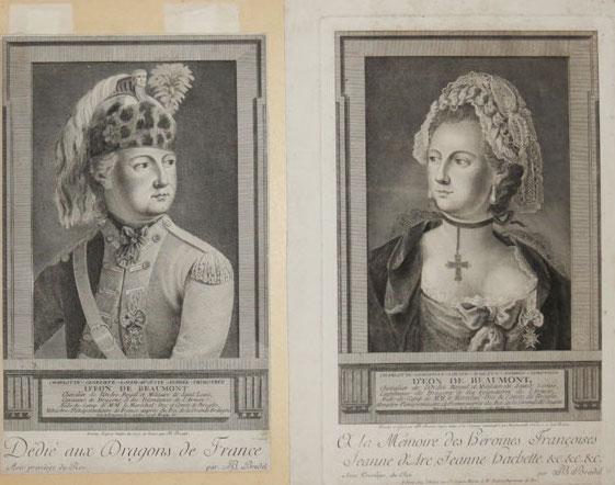Charles d'Éon de Beaumont, dit le chevalier d'Éon - Page 2 2681510
