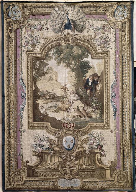 Dessins et aquarelles de Marie-Christine de Habsbourg Lorraine, soeur de Marie-Antoinette 75-00010