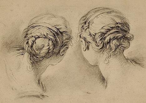 Dessins et aquarelles de Marie-Christine de Habsbourg Lorraine, soeur de Marie-Antoinette 75e7f710