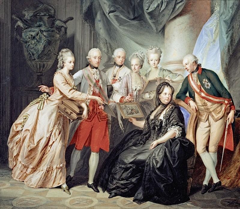 Dessins et aquarelles de Marie-Christine de Habsbourg Lorraine, soeur de Marie-Antoinette 800px-19