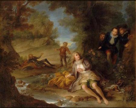 Dessins et aquarelles de Marie-Christine de Habsbourg Lorraine, soeur de Marie-Antoinette 94-05610