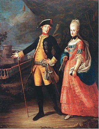 Portraits de Marie Caroline d'Autriche, reine de Naples et de Sicile A979e010