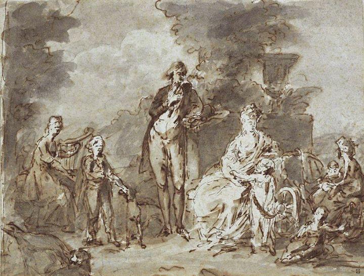 Portraits de Marie Caroline d'Autriche, reine de Naples et de Sicile Angeli10