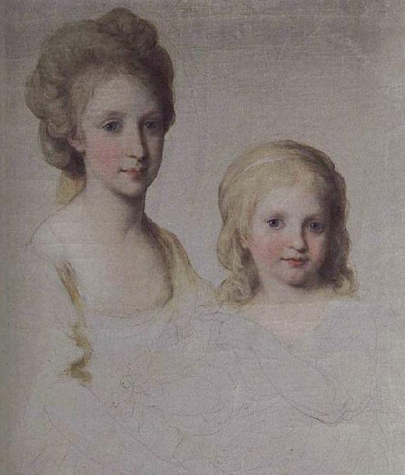 Portraits de Marie Caroline d'Autriche, reine de Naples et de Sicile Angeli11