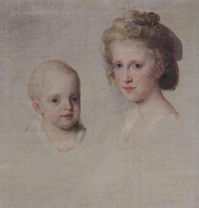 Portraits de Marie Caroline d'Autriche, reine de Naples et de Sicile Angeli12
