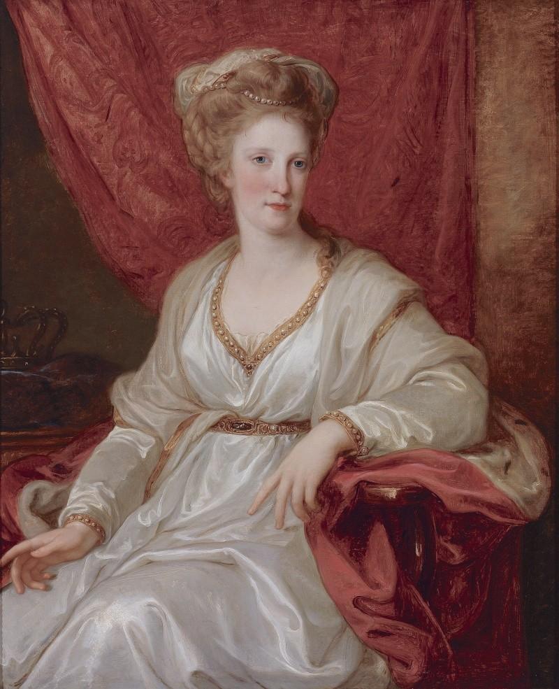 Portraits de Marie Caroline d'Autriche, reine de Naples et de Sicile Angeli13