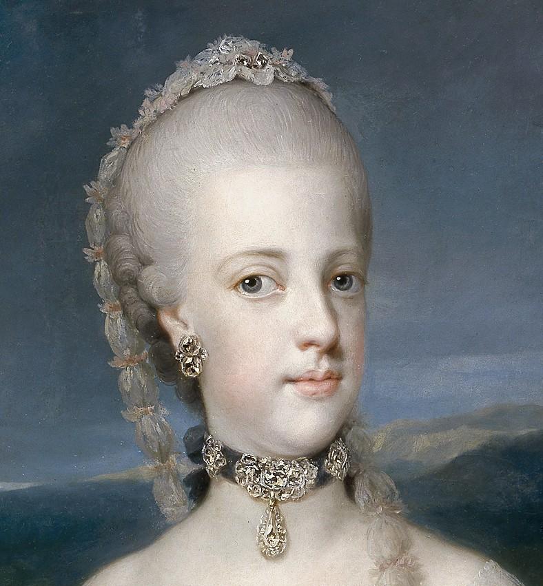 Portraits de Marie Caroline d'Autriche, reine de Naples et de Sicile Anton_11