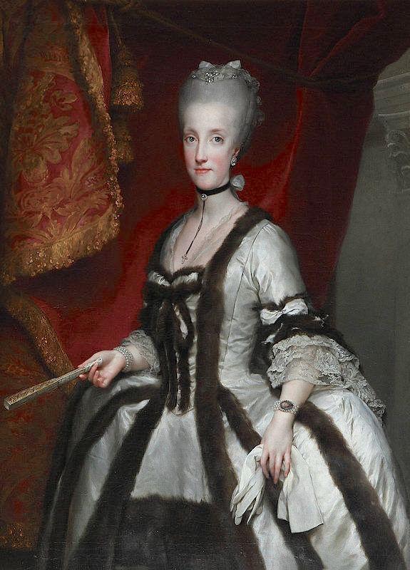 Portraits de Marie Caroline d'Autriche, reine de Naples et de Sicile Anton_14