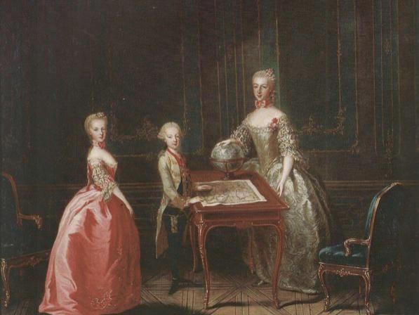 Portraits de l'archiduchesse Marie-Josèphe Archdu10