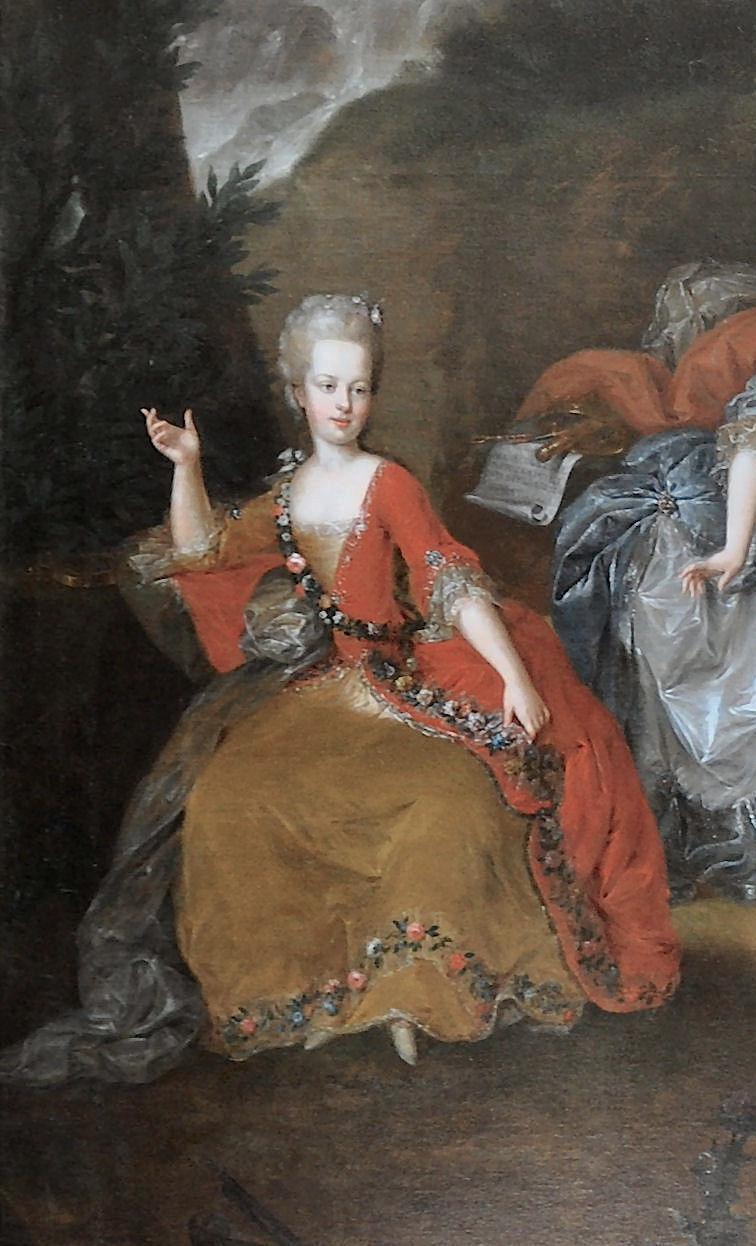 Portraits de l'archiduchesse Marie-Josèphe Archdu12