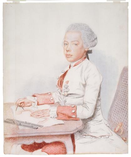 Liotard - Portraits de la famille impériale par Jean-Etienne Liotard Archid10