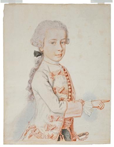 Liotard - Portraits de la famille impériale par Jean-Etienne Liotard Archid11