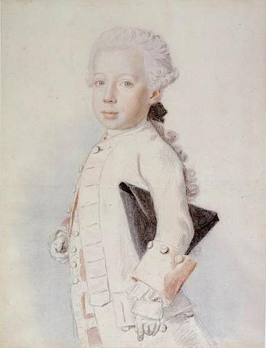 Liotard - Portraits de la famille impériale par Jean-Etienne Liotard Archid12