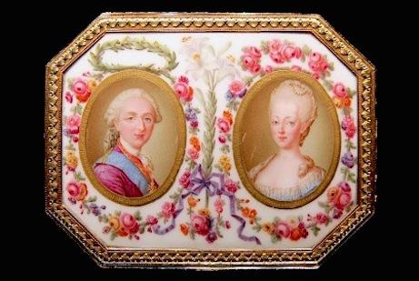 Portraits de Marie-Antoinette, Dauphine - Page 2 Boite_10