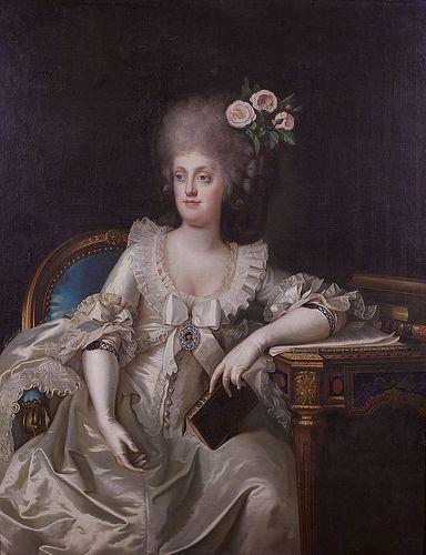 Portraits de Marie Caroline d'Autriche, reine de Naples et de Sicile Camill10