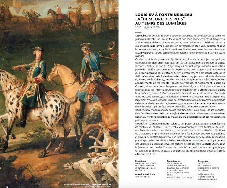 Expositions : Louis XV au château de Fontainebleau Captu116