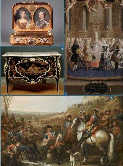 Expositions : Louis XV au château de Fontainebleau Captu117