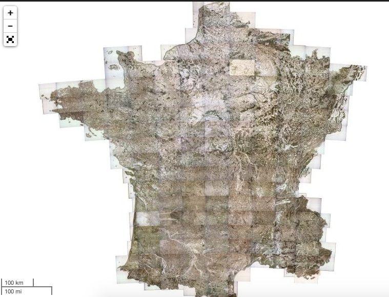 Voyage dans la France du XVIIIe siècle : les cartes de Cassini numérisées Captu121