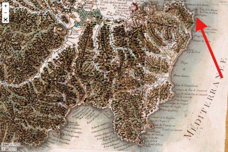 Voyage dans la France du XVIIIe siècle : les cartes de Cassini numérisées Captu127