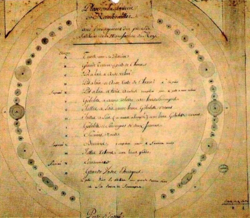 Service de Marie-Antoinette pour Rambouillet en porcelaine de Sèvres Captu136