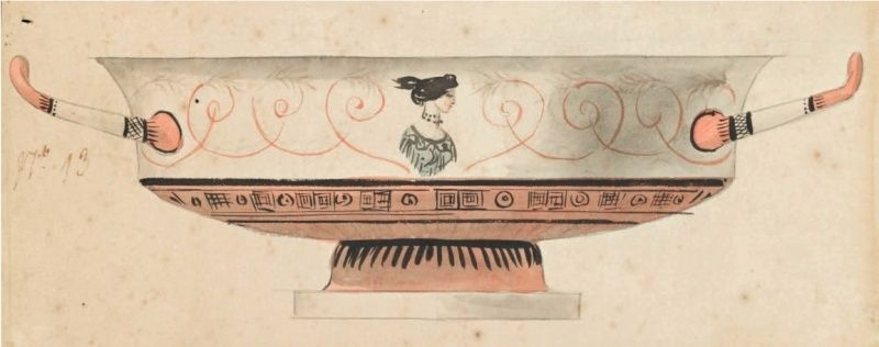 Service de Marie-Antoinette pour Rambouillet en porcelaine de Sèvres Captu138