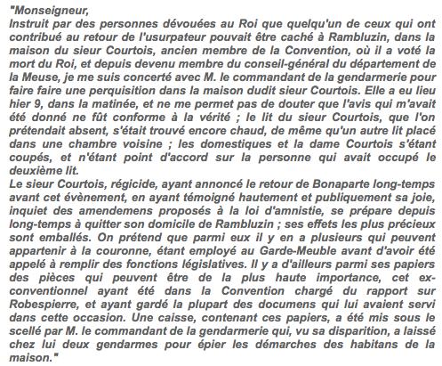 Testament / Lettre de Marie-Antoinette à Madame Elisabeth, le 16 octobre 1793 Captur28
