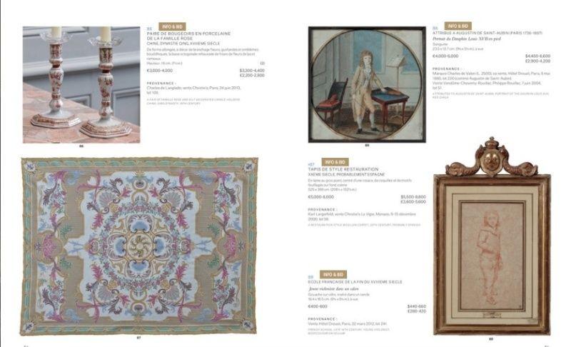 """Vente Christie's """"La vie de château. Collection Jean-Louis Remilleux"""" Captur35"""