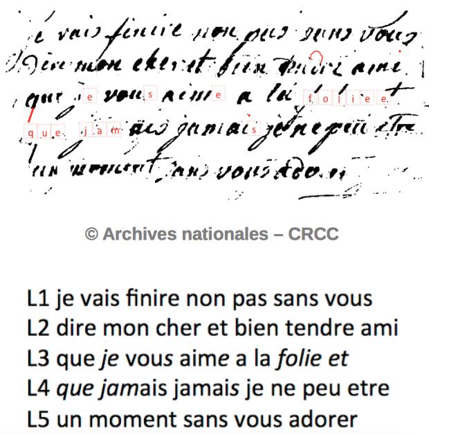 Lettres autographes de Marie-Antoinette à Fersen conservées aux A.N Captur48