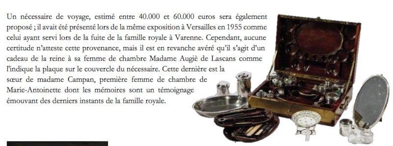 Vente Christie's, Collection Marie-Antoinette Captur58