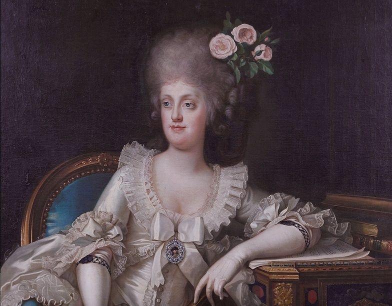 Portraits de Marie Caroline d'Autriche, reine de Naples et de Sicile Captur66