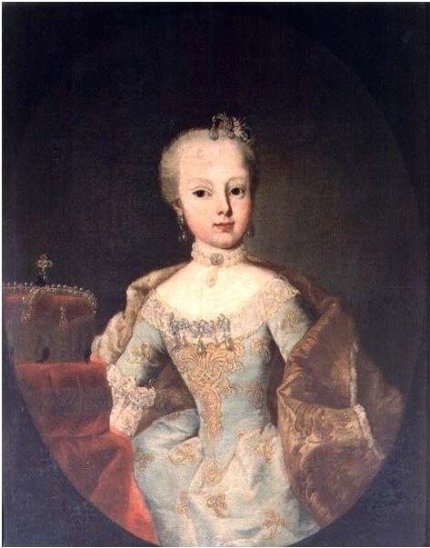 Portraits de l'archiduchesse Marie-Josèphe Captur79