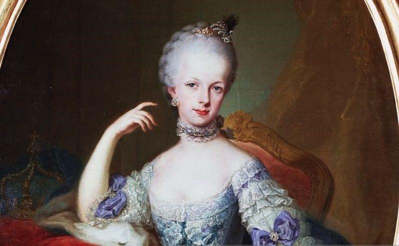 Portraits de l'archiduchesse Marie-Josèphe Captur82