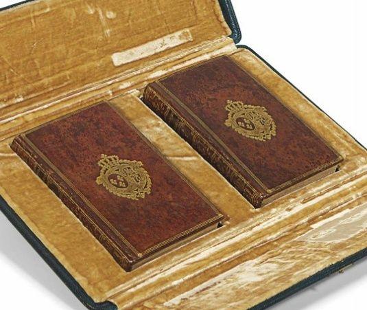 Les livres de la bibliothèque de Marie-Antoinette au Petit Trianon Captur89