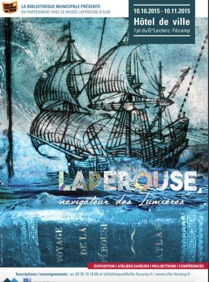 """Exposition """"Lapérouse, navigateur des Lumières"""" à Fécamp.  Captur90"""