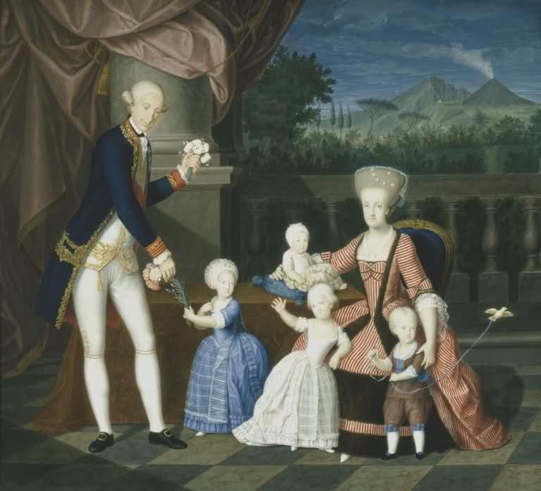 Portraits de Marie Caroline d'Autriche, reine de Naples et de Sicile Carlo_10